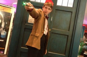 Doctor Who Cosplayer